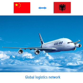 Quick and Cheap air shipping shipping rate dhl from china to albania