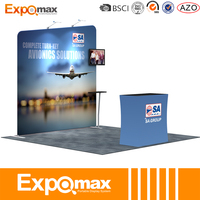 Factory price trade show standard exhibition booth with good