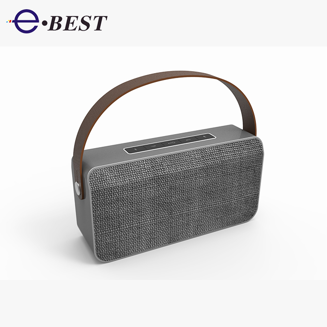 2017 New Model Portable 2.1 CH Bluet ooth Alexa speaker
