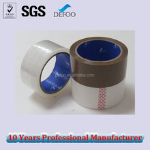 High Performance Brown Tan Color Carton Sealing Acrylic Adhesive Bopp Packing Tape
