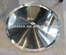 High quality stainless steel round bar Tray round serving tray