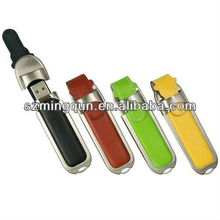 2013 New Products/Promotion Leather USB Flash Drive