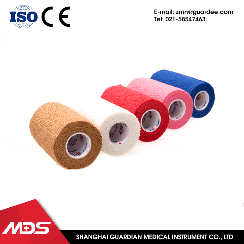 2016 wholesale multicolor cohesive knee bandage vet wrap