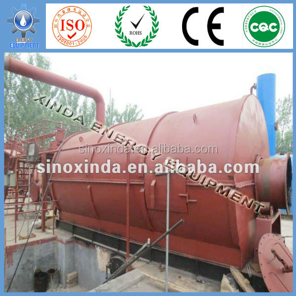 China new design popular Continuous pyrolysis tire recycle plant