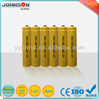 NiCd Rechargeable battery ni-cd battery pack nicd aa battery 600mah howell
