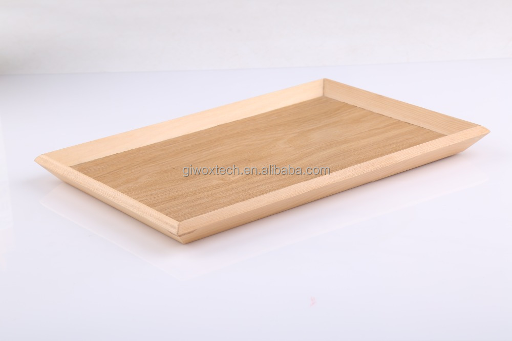 FDA rectangular wood Serving Tray