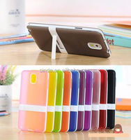 TPU Silicone Gel Stand Kickstand Case Cover For Samsung Galaxy Note 3 III N9000