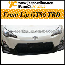 GT86 TRD Style PU Front Bumper Lip For Toyota