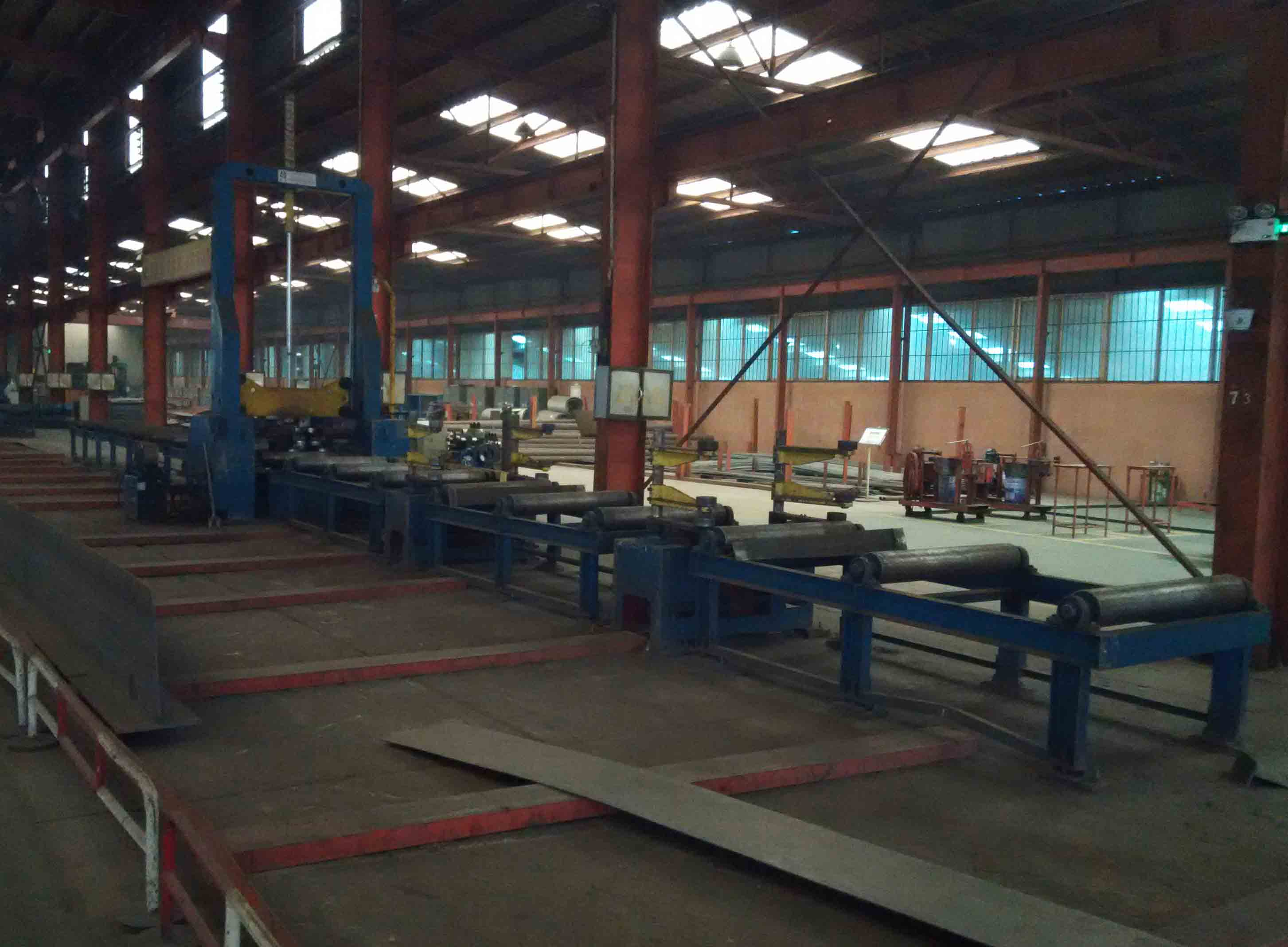 Assembling-H Section Steel