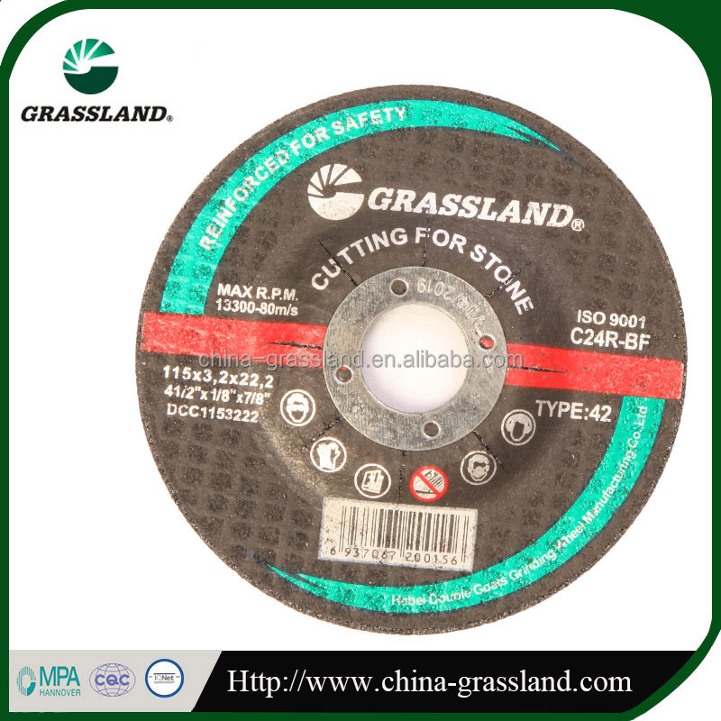 4 inch flap fiber abrasive cutting off disc for INOX
