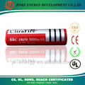18650 lithium ion battery 2600mah Lithium rechargeable battery