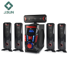 hot selling private mold 5.1 usb speaker box with fm radio