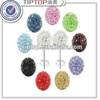 hot selling fashion crystal earrings for women