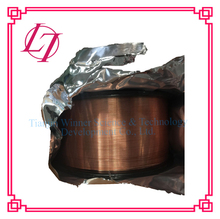 Copper coated CO2 gas shielded solid welding wire copper scrap wire