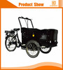 cargo electric bike 3 wheel high quality vending tricycle with insulated box