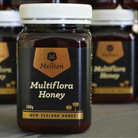 New Zealand Honey Multiflora Honey Honey