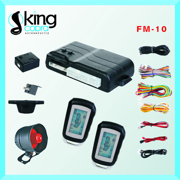 Hot selling Two way car alarm with remote engine start