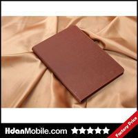 Tablet Accessories 2014 Light Brown Folio Stand Smart Magnetic Leather Case Cover For IPad mini2