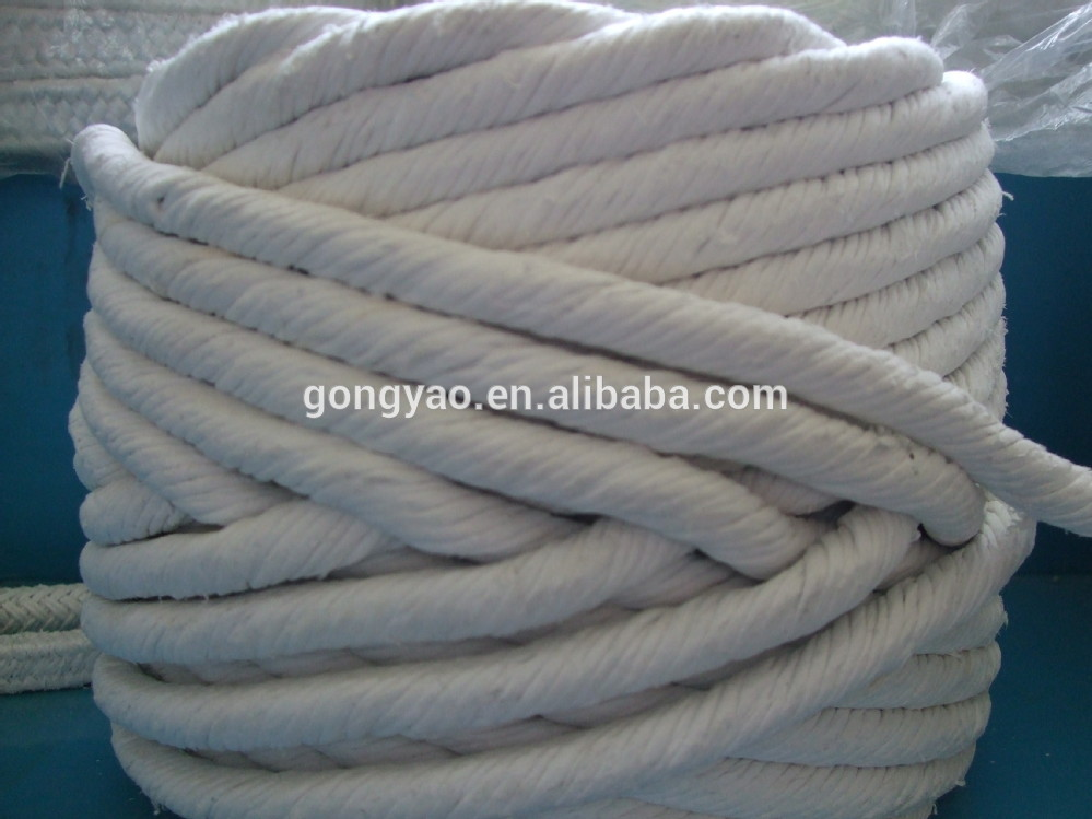 Heat Insulation Dust Free Rock Wool Rope