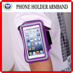 Hot Selling Adjustable Armband Mobile Phone Holder for Iphone/Samsung