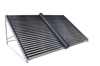 high density horizontal vacuum tube solar collector Non-pressure water flow
