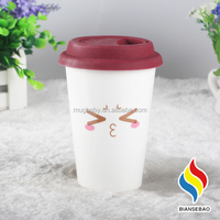 New Stylish Wholesale Ceramic Mug Silicone Cup Cover