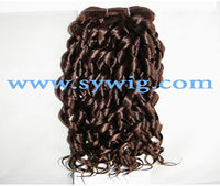Chinese spiral curl human weave hair extensions