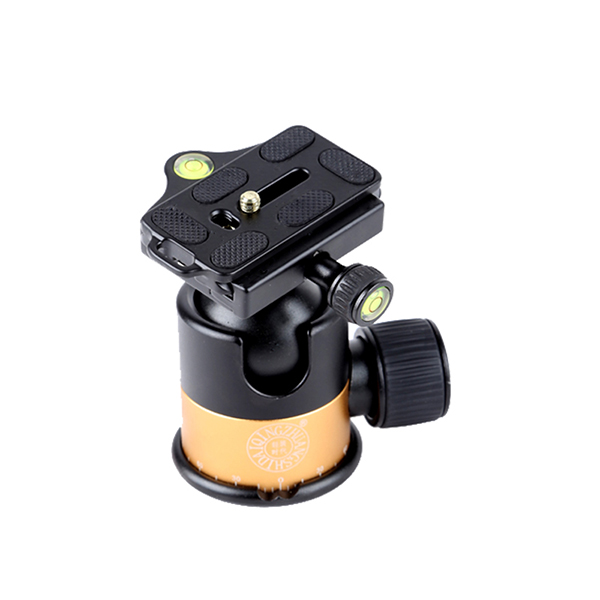 QZSD-<strong>Q09</strong> Panorama Gimbal Tripod Head with Standard Quick Release Plate for Digital SLR Camera magnesium ballhead load 8 kg Q08