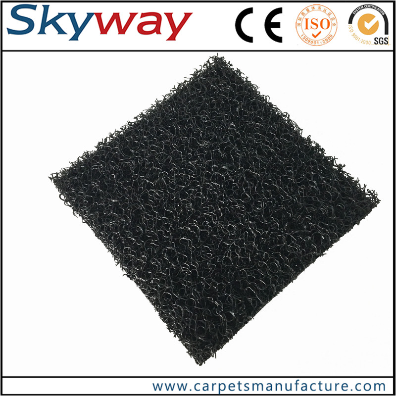 PVC coil surface spike backing car mat
