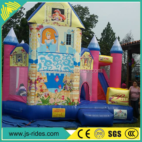 2016 Promotion popular inflatable combo, inflatable amusement park commercial bounce houses for sale