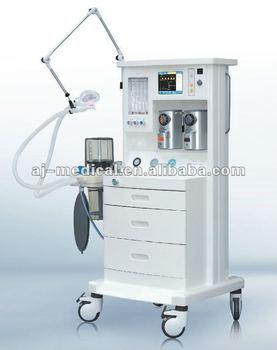 Anesthesia Machine with Ventilator AJ-2104 with CE