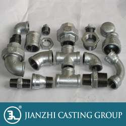 EN10242 Galvanized malleable iron pipe fittings