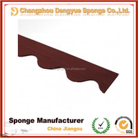 resist weather conditions Corrugating Metal Vented Roof Panel Closeure Strip