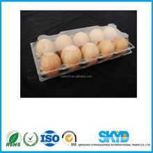 6 8 10 12 caves clear plastic high quality egg tray