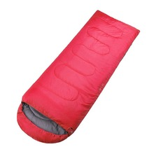 Hot sale lightweight outdoor camping waterproof easy taking 190t nylon 4 seasons use sleeping bags