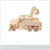 Wooden Stacking Train Toddler and Baby Toys