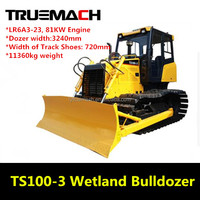 Hot Sale High Quality 110HP Small Wetland Bulldozer