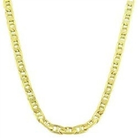 14K Yellow Gold Heavy 20-inch Mariner Chain New Designed in France Free Shipping and 15% OFF