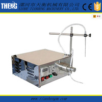 vinegar fruit juice milk packing machine in plastic bottles
