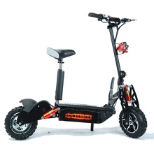 CE approved lithium battery scooter 60V 2000W electric scooter with 11'' cross tires for adult