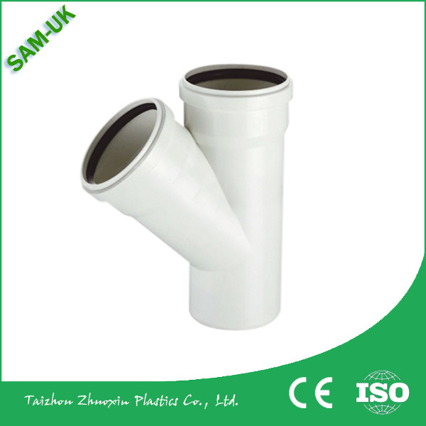 PVC DIN Drainage Fittings PVC Rubber Fittings