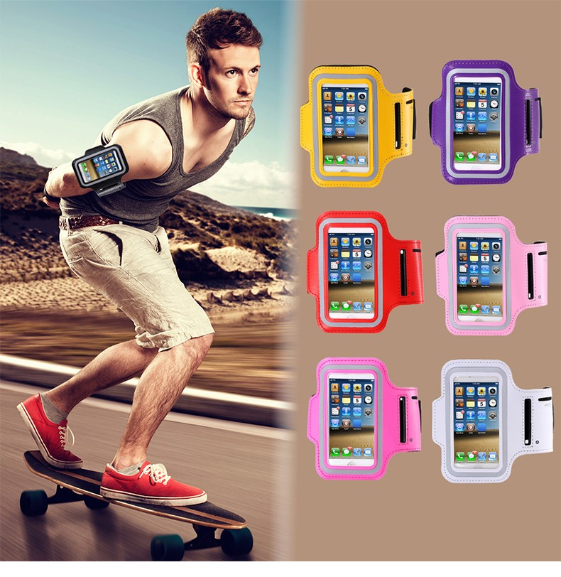 Universal Waterproof Sport Armband Case For iPhone 5S 5C 5 5G 4S 4 Adjustable 5S 4S Running Walking Wristband Bag Cover