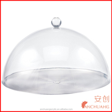 Clear 12-Inch Acrylic Plastic Cake Pan Dome Cover