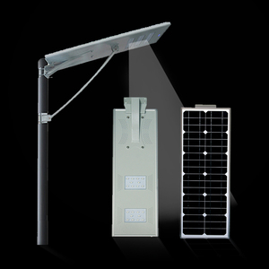 60W Outdoor Low Price Led 60W All In One Solar Street Light With Pole