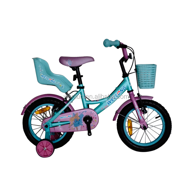 New Design STEM ED painting color 14 girl's bike children bike with handle