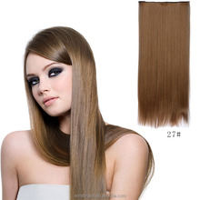 Wholesale silk straight cheap hair extension synthetic tape hair extensions for christmas
