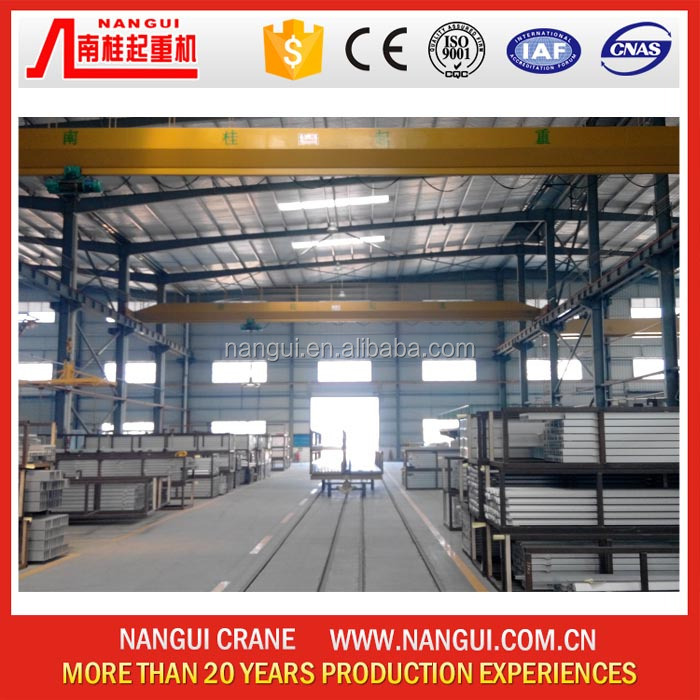 Cheap Price Warehouse Monorail 10 Ton Single Girder Electric Hoist Overhead Traveling Crane Eot Crane with Hook for Sale
