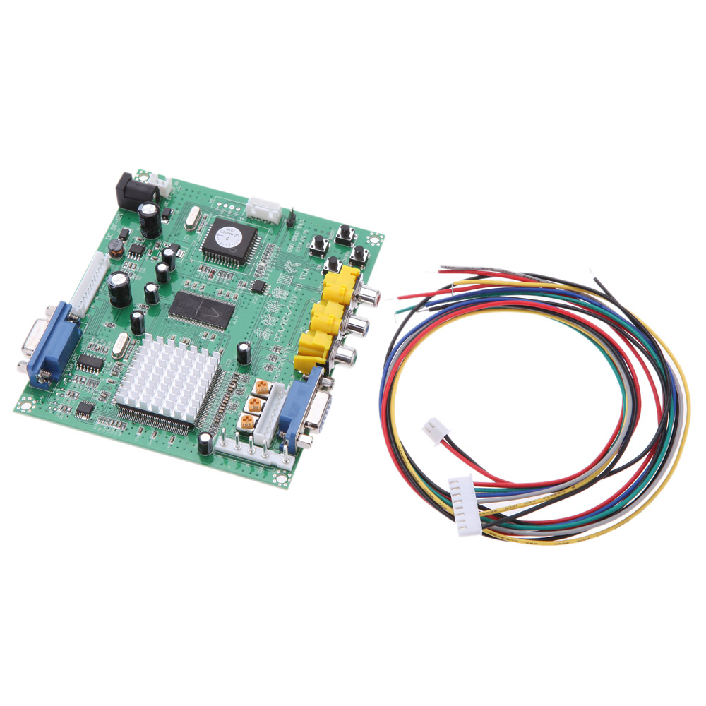 GBS8200 5V Active Low 1 Channel Relay Module Board CGA/EGA/YUV/RGB To VGA Arcade Game Video Converter for CRT LCD Monitor