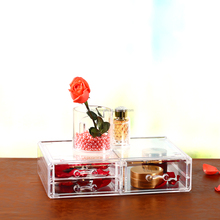 Jewelry Display Rack Wholesale Acrylic Cosmetic Organizer box