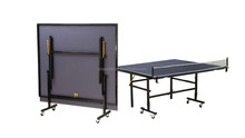 MDF board, Outdoor/Indoor, Folded portable table tennis table